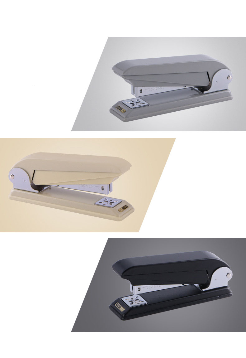 Agrafeuse rotative - 3 couleurs sobres, discrets et design