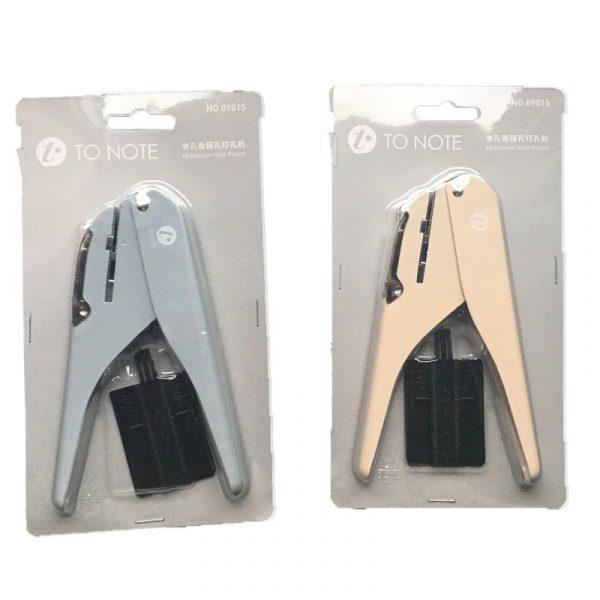 Perforatrice reliure à disque pour planner et bullet journal - packaging